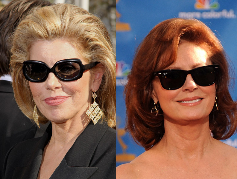 Christine Baranski and Susan Sarandon