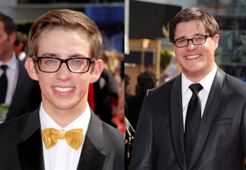 Kevin McHale and Rich Sommer