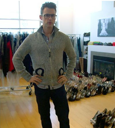 Brad Goreski in DSquared2