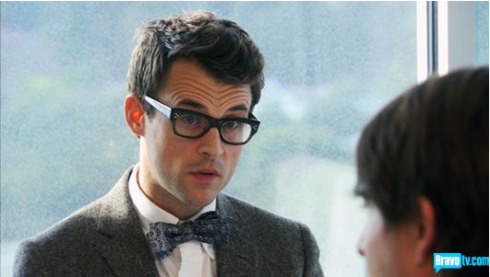 Brad Goreski in Oliver Peoples
