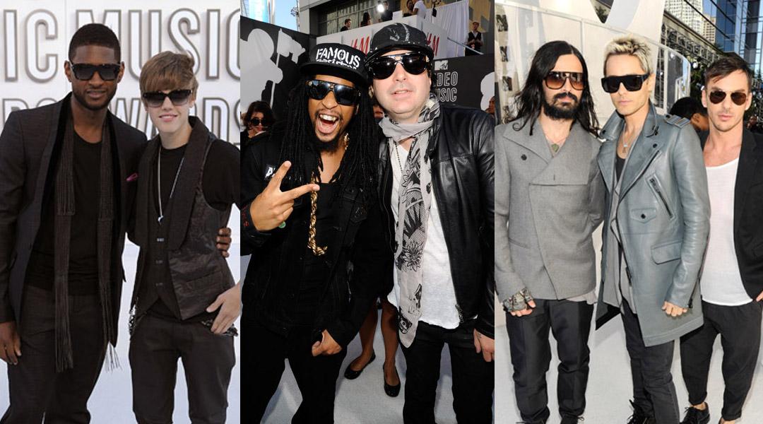 Usher, Justin Bieber, Lil John, Kevin Rudolf, 30 Seconds to Mars