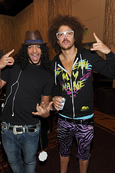 SkyBlu and Redfoo of LMFAO