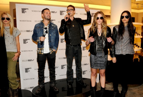 Justin Timberlake & Trace Ayala at William Rast FNO