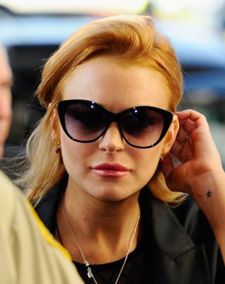 Lindsay Lohan Cat-Eye