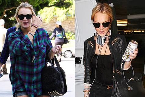 Lindsay Lohan Shades