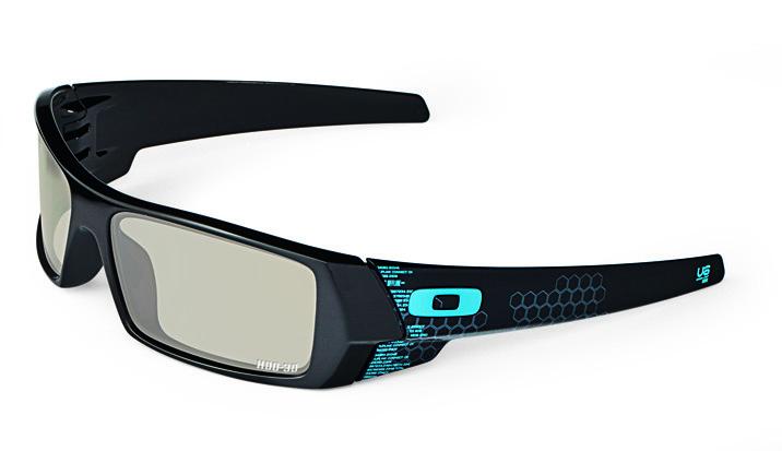 """""""TRON"""" Limited Edition 3D Gascan eyewear by Oakley"""
